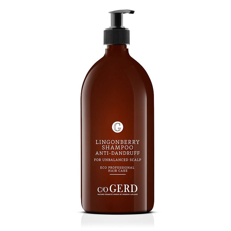 Lingonberry Shampoo 1 L in the group Hair Care / Shampoo at  Nature Cosmetic Group Of Swedish Lapland AB (102-1000)