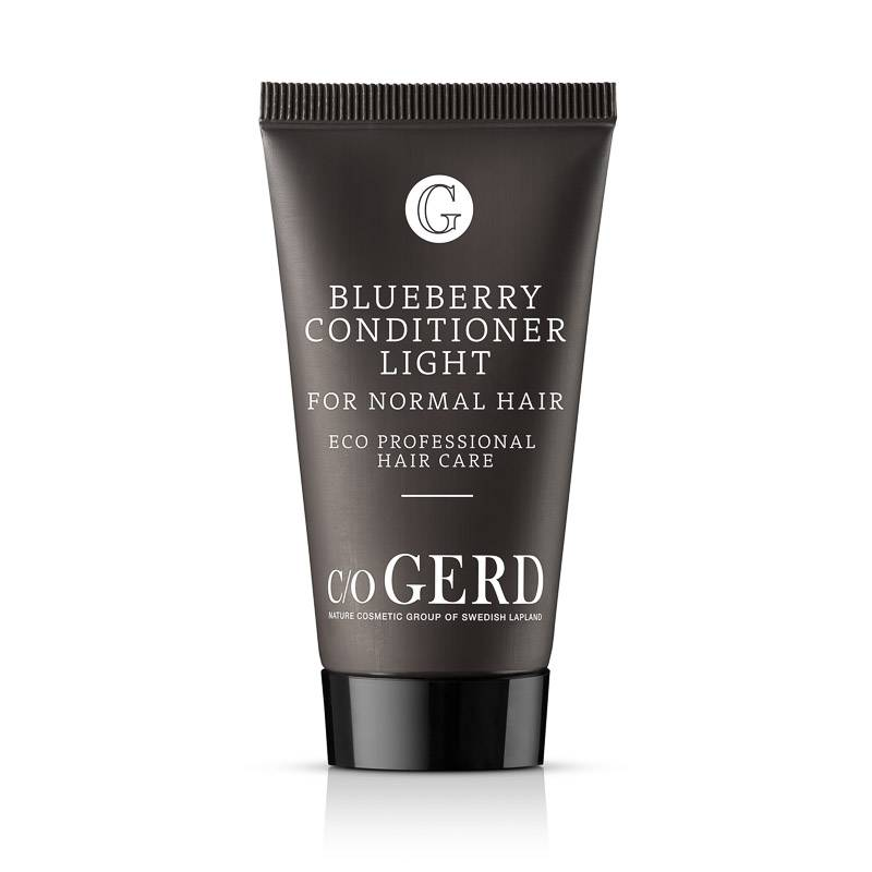 BLUEBERRY CONDITIONER LIGHT 30 ML in the group Hair Care / Conditioner & Leave in at  Nature Cosmetic Group Of Swedish Lapland AB (103-0030)