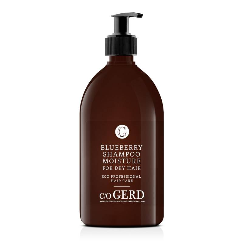 BLUEBERRY SHAMPOO 500 ML in the group Hair Care / Shampoo at  Nature Cosmetic Group Of Swedish Lapland AB (110-0500)