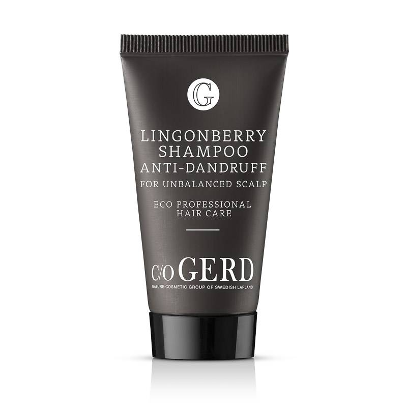 LINGONBERRY SHAMPOO 30 ML in the group Hair Care / Shampoo at  Nature Cosmetic Group Of Swedish Lapland AB (112-0030)