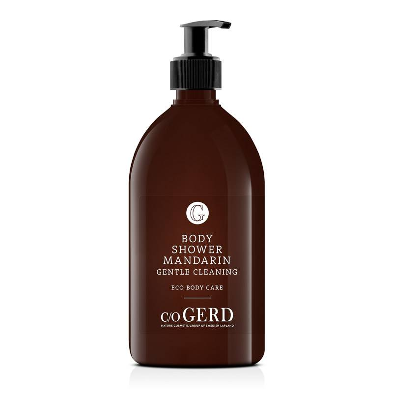 BODY SHOWER MANDARIN 500 ML in the group Body Care / Body Shower at  Nature Cosmetic Group Of Swedish Lapland AB (303-0500)