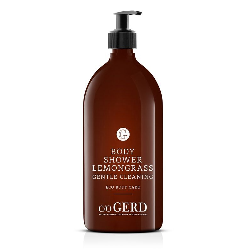 BODY SHOWER LEMONGRASS 1000 ml in the group Body Care / Body Shower at  Nature Cosmetic Group Of Swedish Lapland AB (305-1000)