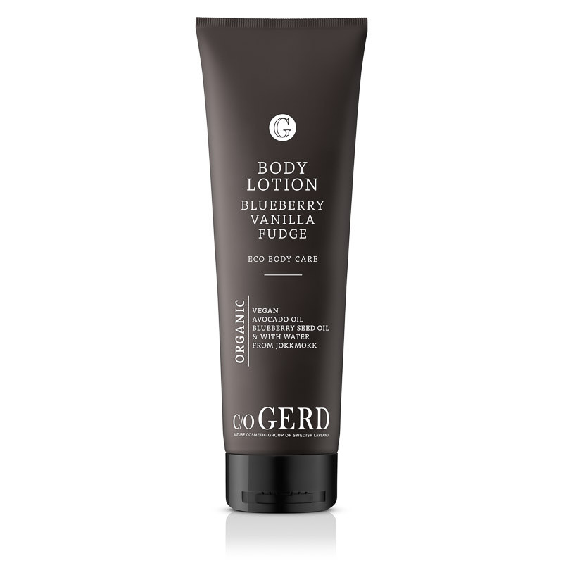 BODY LOTION BLUEBERRY VANILLA FUDGE 275 in the group Body Care / Body Lotion & Body Oil at  Nature Cosmetic Group Of Swedish Lapland AB (320-0275)