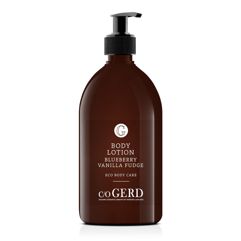 BODY LOTION Blueberry Vanilla Fudge 500 ML in the group Body Care / Body Lotion & Body Oil at  Nature Cosmetic Group Of Swedish Lapland AB (320-0500)