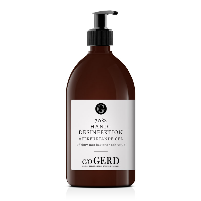 Hand Disinfectant 70% 500ml  in the group Hands & Feet  / Hand Cream & Soap  at  Nature Cosmetic Group Of Swedish Lapland AB (550-0500)