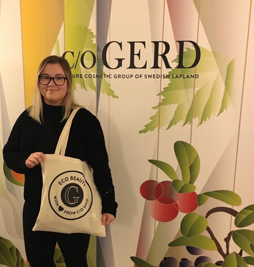 eco Beauty Bag in the group Our Stores at  Nature Cosmetic Group Of Swedish Lapland AB (ecobeautybag)