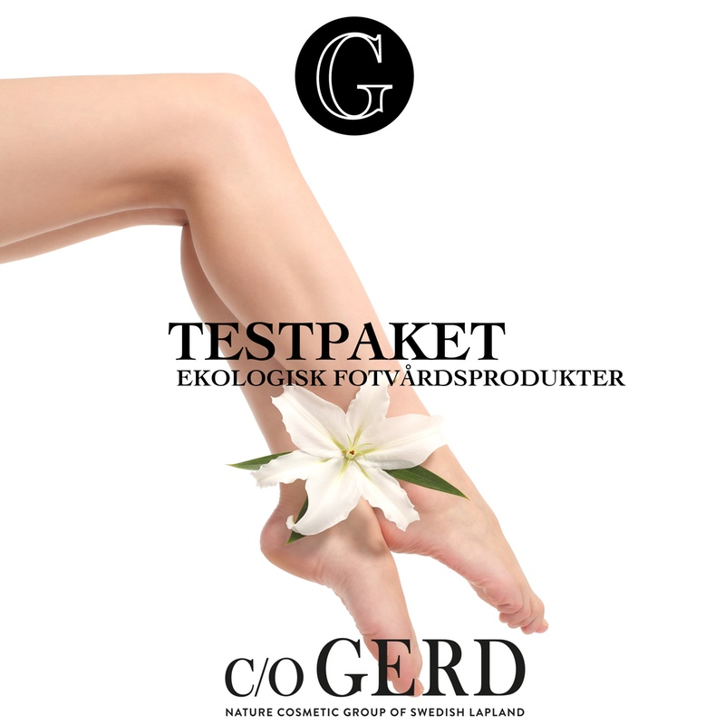 in the group Hands & Feet  / Feet at  Nature Cosmetic Group Of Swedish Lapland AB (testpaketfotvard)